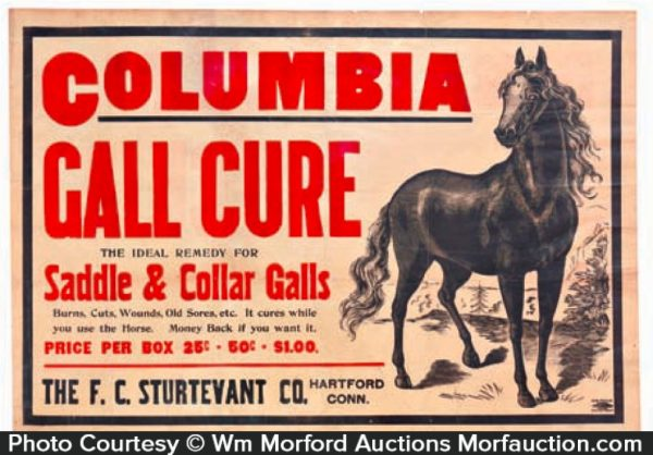 Columbia Gall Cure Poster