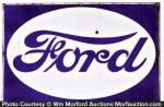 Ford Motor Porcelain Sign