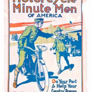 Motorcycle Minute Men Poster