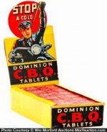 Dominion C.B.Q Tablets Display Box