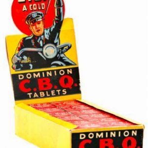 Dominion C.B.Q Tablets Display Box