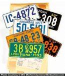 Wheaties License Plates