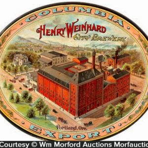 Henry Weinhard Columbia Beer Tray