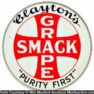 Grape Smack Soda Sign