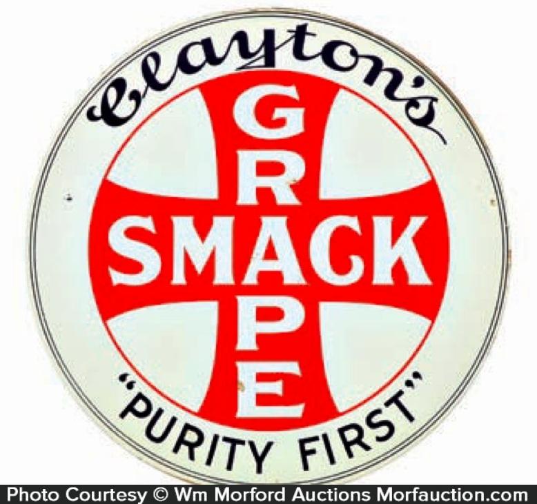 Grape Smack Soda Sign