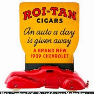 Roi-Tan Cigars Car