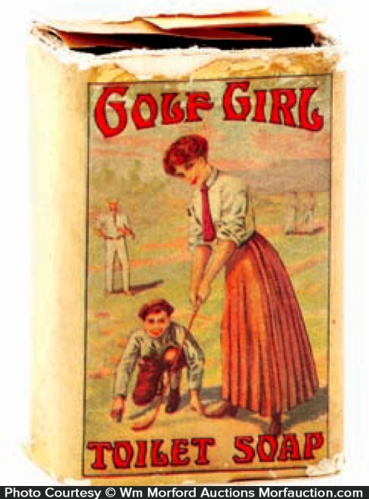 Golf Girl Soap Box