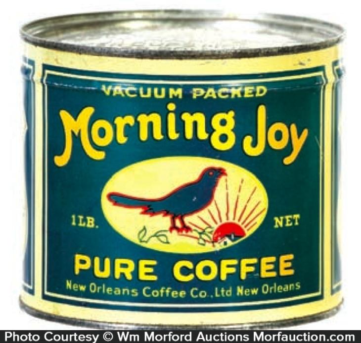 Morning Joy Coffee Can