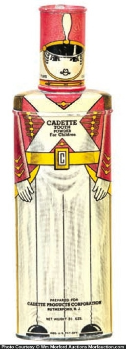 Cadette Tooth Powder Tin