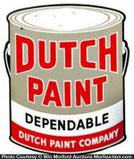 Dutch Paint Sign