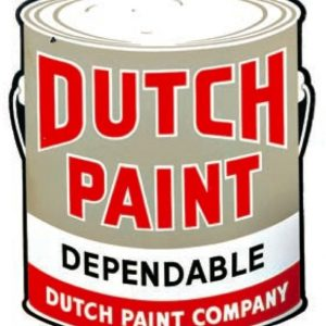 Dutch Paint Sign