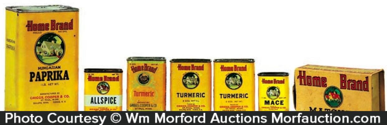 Home Brand Spice Tins