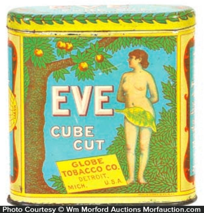 Eve Cube Cut Tobacco Tin