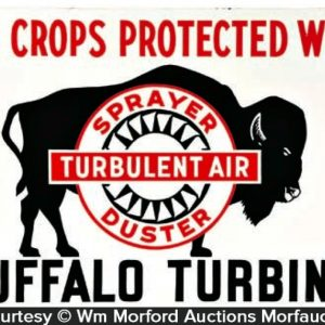 Buffalo Turbines Sign