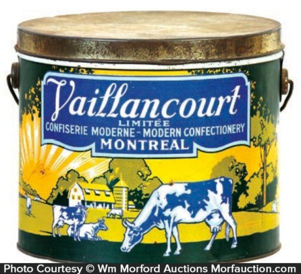 Vaillancourt Candy Pail