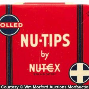 Nutex Nu-Tips Condom Tin