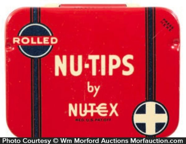 Nutex Nu-Tips Condom Tin