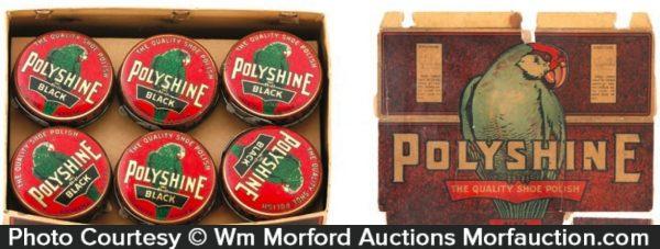 Polyshine Shoe Polish Box