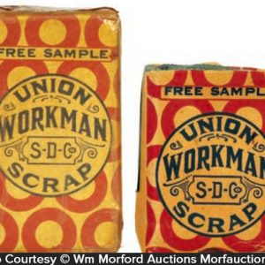 Union Workman Tobacco Sample Packs