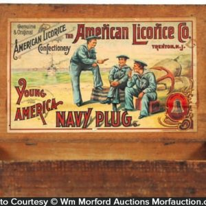 American Licorice Navy Candy Box