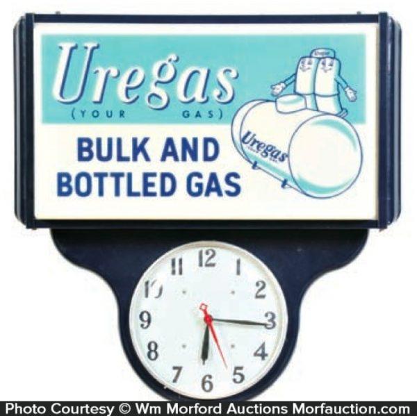 Uregas Clock