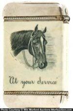 Beach Wickham Grain Horse Match Safe