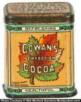 Cowan's Cocoa Sample Tin