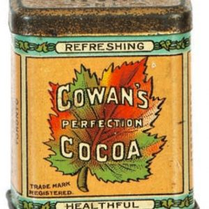 Cowan's Cocoa Sample Tin