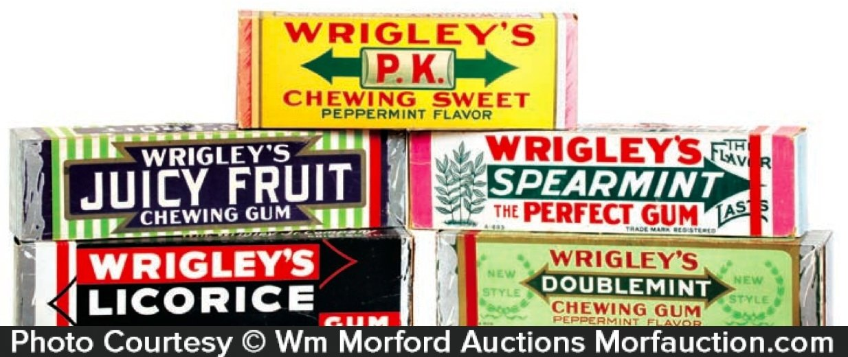 Wrigley's Gum Display Boxes