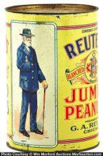 Reuter's Peanut Tin