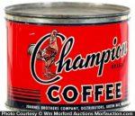 Champion Coffee Can