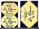 Dr. Robinson's Condom Tins