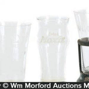 Vintage Soda Fountain Glasses