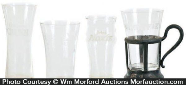Vintage Soda Fountain Glasses