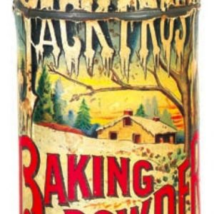 Jack Frost Baking Powder Tin