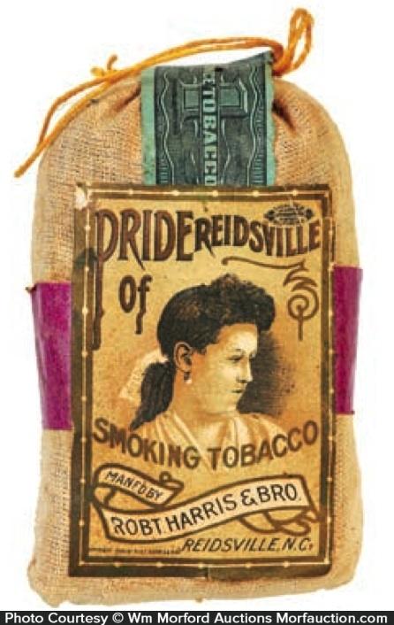 Pride Of Reidsville Tobacco Pouch