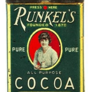 Runkel's Cocoa Sample Tin