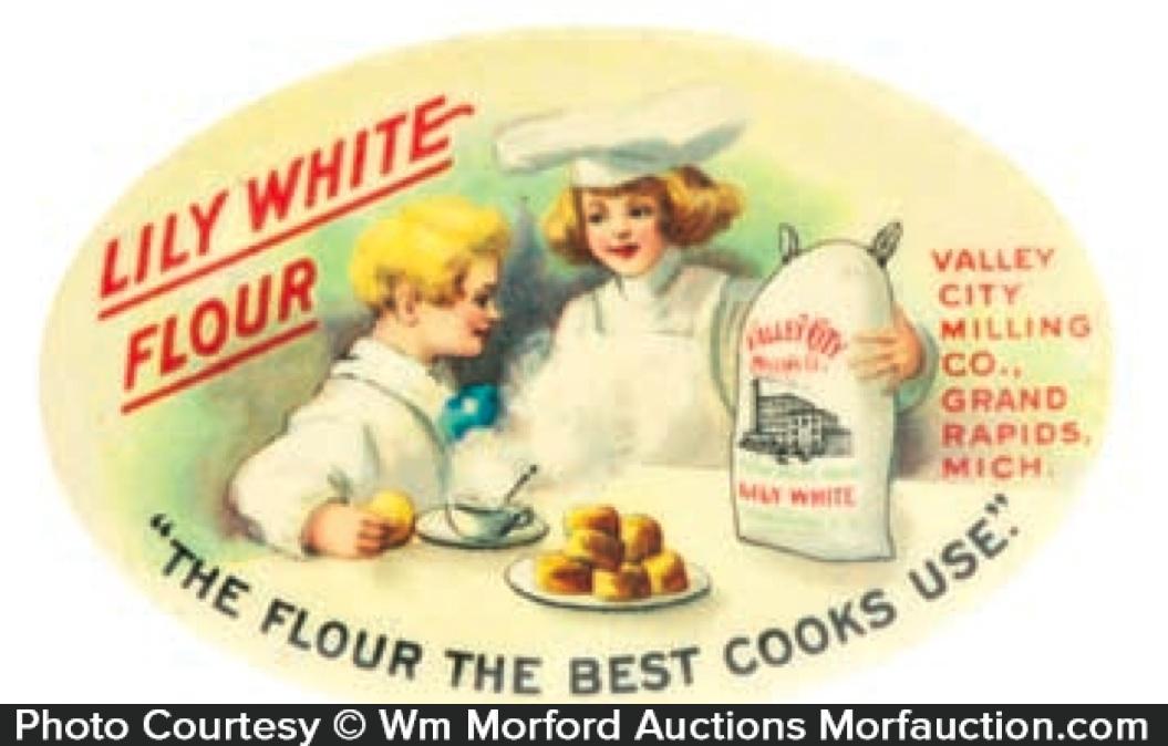 Lily White Flour Mirror