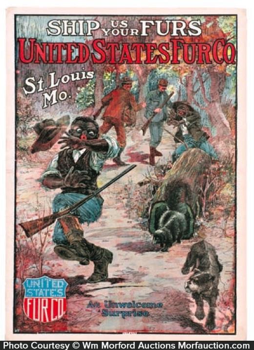 United States Fur Poster