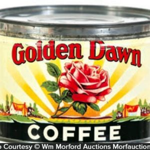 Golden Dawn Coffee Can