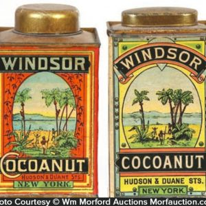 Windsor Cocoanut Tins