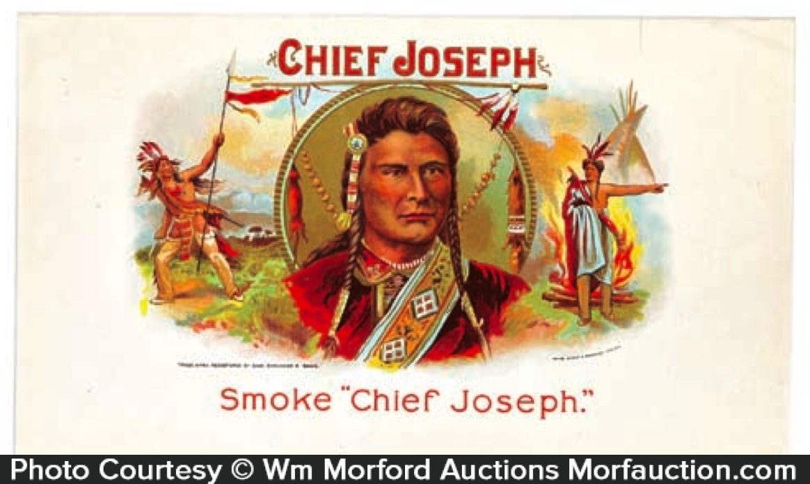 Chief Joseph Cigar Label