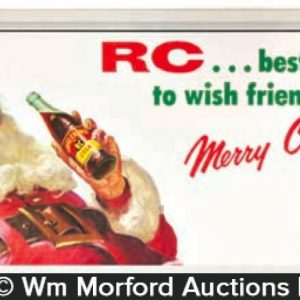 Rc Cola Christmas Sign