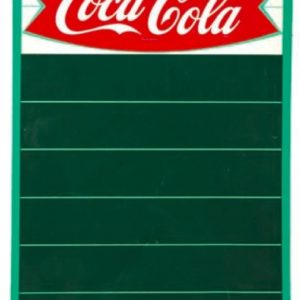 Coca-Cola Fishtail Menu Board