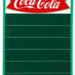 Coca-Cola Fishtail Menu Board