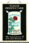 American Beauty Flour Sign