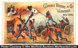 Darktown Fire Brigade Varnish Trade Card
