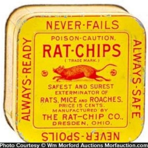 Rat Chips Tin