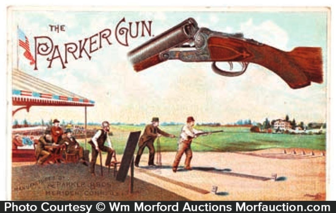 Parker Shotgun Trade Card