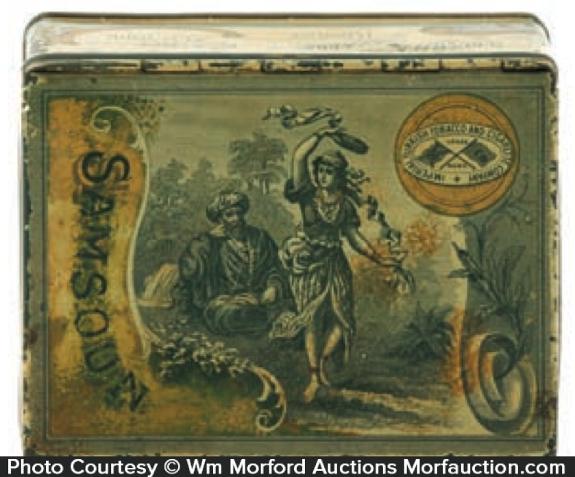 Samsoun Tobacco Tin